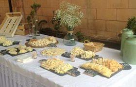 Celebraciones. Mesa de quesos